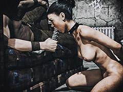 sharp cunt girl