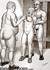 Once more she had attached weights to her nipples, through the use of viciously sharp clips pic 2