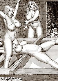 Keep working that slut's backside, my love pic 2